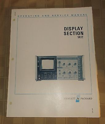 Hewlett Packard HP Service Manual - Display Section 141T - 1976