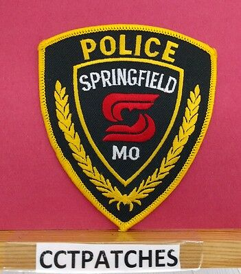 Springfield, Missouri Police Shoulder Patch Mo