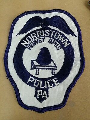 Norristown, Pennsylvania Police Shoulder Patch Pa