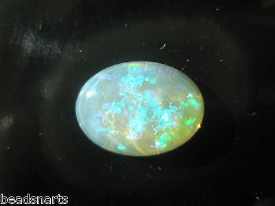 Natural Solid Australian Gel/Crystal Opal 6.35 ct Oval Cabochon- 15.5x11.5mm - 1