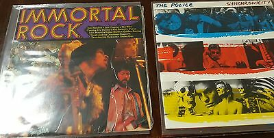 Vinyl Records x 2: The Police and Immortal Rock