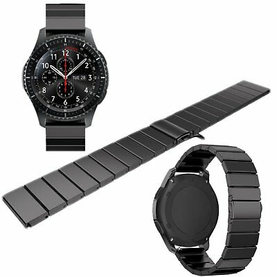 Stainless Steel Smart Watch Band Link Bracelet For Samsung Gear S3 Frontier