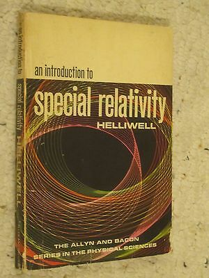 An Introduction to Special Relativity - Helliwell, Vintage Collectible Book