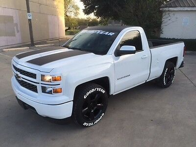 2014 Chevrolet Silverado 1500 Reg cab 2 door 2014 Chevrolet Silverado regs cab,rally edition, black  20 Texas edition wheels