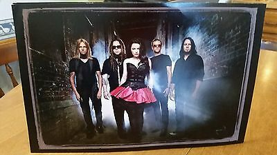 Evanescence 11x17 Promotional Poster Amy Lee VERY RARE
