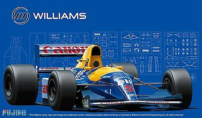 Fujimi GP05 1/20 F1 Williams FW14B - 1992 England/ Monaco/ Hungary GP from Japan