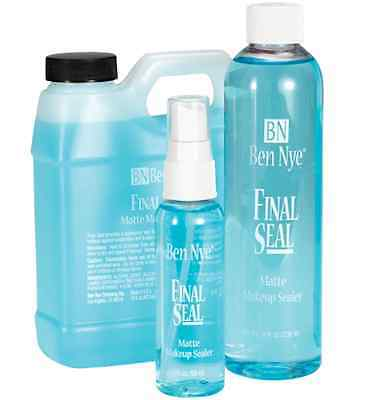Ben Nye Final Seal- smudge and water-resistant finish Theatre On Set Movies