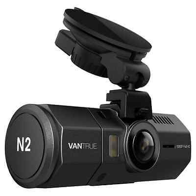 Vantrue N2 Dual Dash Cam - 1080P FHD +HDR Front and Back Wide Angle Dual Lens 1.