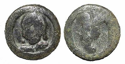 (8139) Samarqand Soghd, anepigraphic AE coin, unknown ruler.