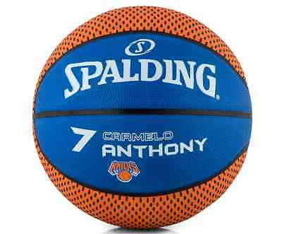 SPALDING NBA NY Knicks Carmelo Anthony Basketball Ball - Size 7 - New