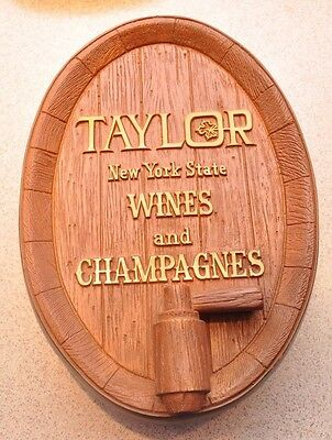 Taylor New York Wine and Champagnes Display