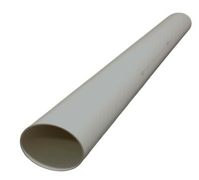 Holman PVC DWV PIPE Watermark Certified WHITE *Aust Brand - 80, 100 Or 150mm x1m