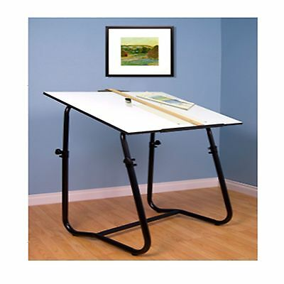 Drawing Table Board Adjustable Height Craft Art Drafting Tiltable Painting Desk