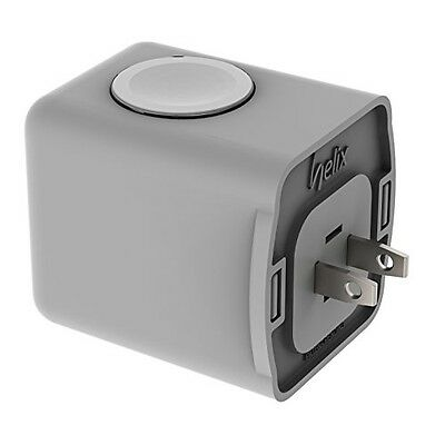 Standzout Helix Apple Watch Receptacle Dock Charger Housing (White)