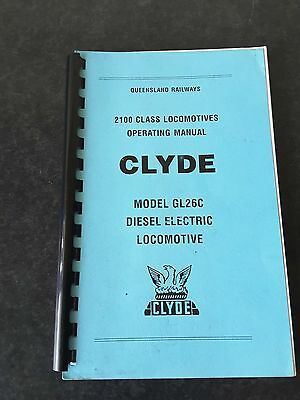 One Nice Old Book. 2100 Class Locomotive Operating Manual  (Clyde)