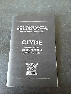 One Nice Old Book. 1502 Class Locomotive Operating Manual  (Clyde)