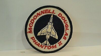 USAF McConnell Douglas F-4 Phantom II Patch 3 x 3 inches