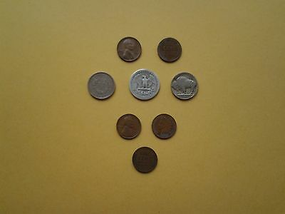 USA Coins 1888 to 1954