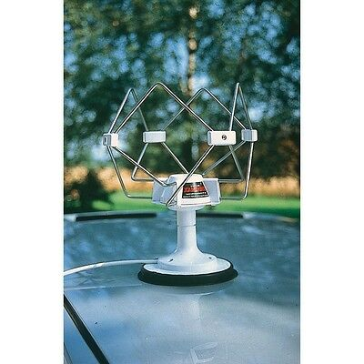 Antenne omnidirectionelle Omnimax+Socle magnétique+Rallonge 12V/24v 5M-NEUF