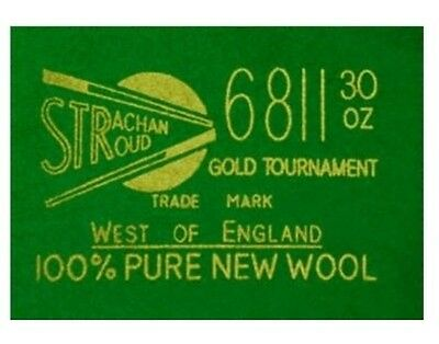 "Strachan ""6811 Tournament  30 oz""  Snooker Cloth"