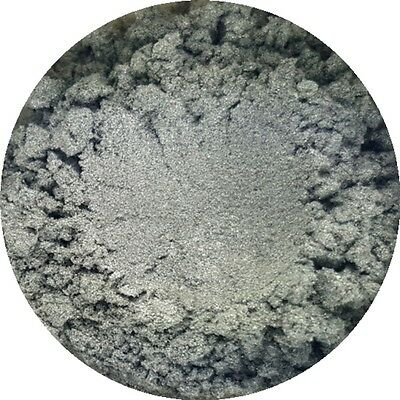 Silver Sparks Cosmetic Mica Powder 3g-50g Pure Soap Bath Bomb Colour Pigment