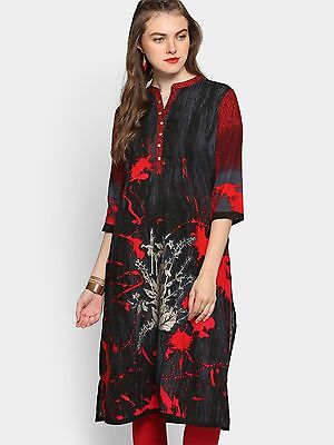 High Quality Printed Rayon Kurti Bollywood New Design Ethnic Style From Shree