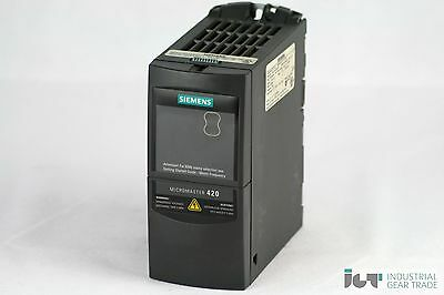 Siemens Micromaster 420 6SE6 420-2UD15-5AA1 ohne Filter