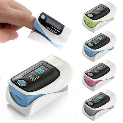 Finger Fingertip Blood Oxygen Meter SPO2 Graph Heart Rate Monitor Pulse Oximeter