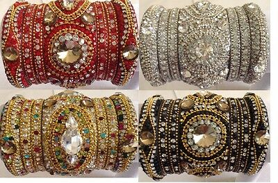 Indian Bollywood Bridal Bangles/Bracelets in latest design&Colour Limited Stock
