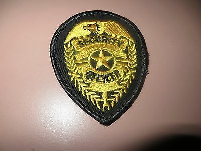 Embroidered Unmarked Security Officer Patch