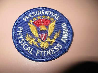Embroidered Presidential Physical Fitness Award Patch