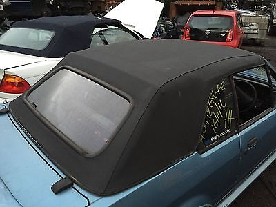 Ford Escort Mk4 Convertable Cabriolet Black Complete Roof Hood And Frame