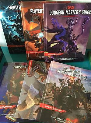 D&D Dungeons & Dragons 5 FIFTH EDITION QUINTA EDIZIONE Giga Bundle
