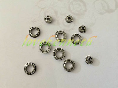 5/10/20/50pcs Flange Ball Bearing F673ZZ To F678ZZ Metal Shield Flanged Bearings