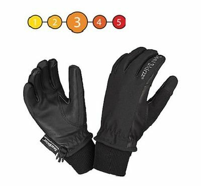 Sealskinz Childrens Thermal Waterproof Cycle Competition Riding Glove Black