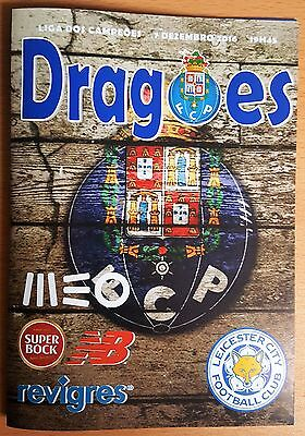 FC PORTO v LEICESTER CITY ~ CHAMPIONS LEAGUE ~ 07/12/2016 ~ PIRATE PROGRAMME