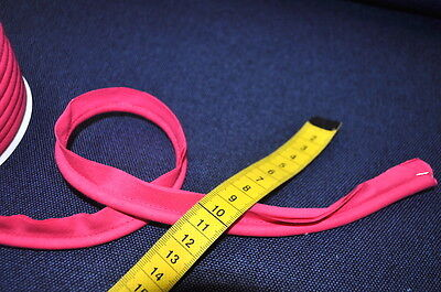 PIPING band Uni Biese 1 Meter Sewing Haberdashery 100% Cotton Piping WIDE PINK
