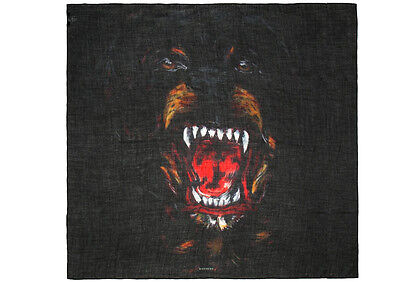 Givenchy Sciarpa Stola Rottweiler Scarf Made In Italy #16S9612872