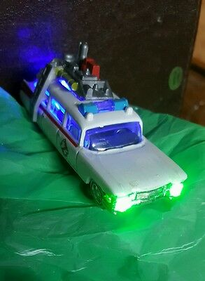 Ghostbuster Pinball Machine New  Car with Green Slimer  Headlight Mod Affordable