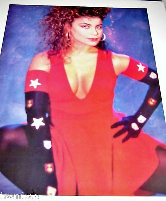 Paula Abdul Forever Your Girl Straight Up Cold Hearted Pin Up Clippings 80's