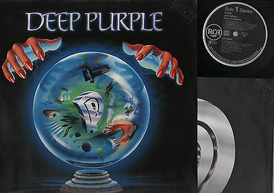 Lp Deep Purple Slaves And Masters Made In Germany Imported Italy Promo Punched