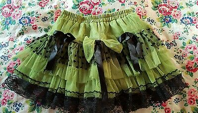 girl's layered party skirt * age 10-11