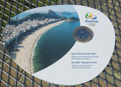 1 Real Brazil OLYMPIC handover LONDON 2012 - RIO 2016 BUNC SEALED PACK