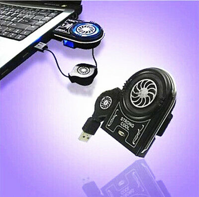Fan Vacuum Cooler 2016 HOT Extracting Air for Notebook Laptop USB Mini Cooling