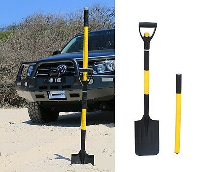 4WD Multi Shovel 4 Piece Camp Recovery 5 Different Shovel Configurations in One