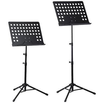 Duty Heavy Telescopic Orchestral Sheet Music Stand Holder Tripod Base Foldable