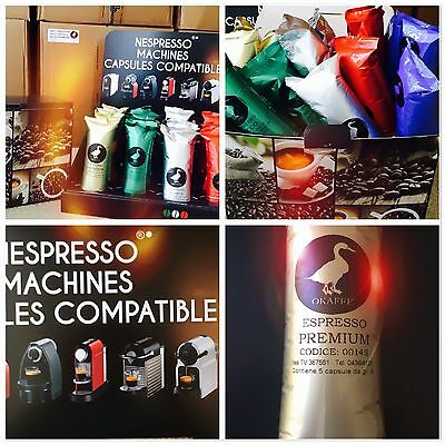 100 Nespresso compatible pods, Atuhentic Italian blends 5 varities
