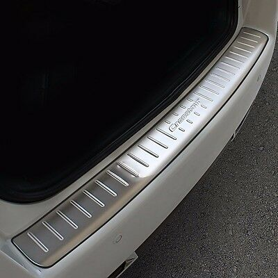 Stainless Steel Rear Bumper Protector Sill Plate Guard Cover For Honda Crosstour