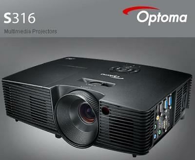 Optoma S316 Dlp Projector Svga 4:3 3200Lm S316