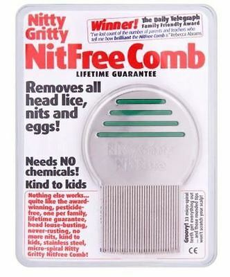 Nitty Gritty NitFree Comb - Removes all headlice nits and eggs